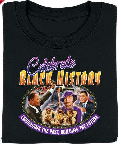 Black History t-shirt - Celebrate Black History - youth