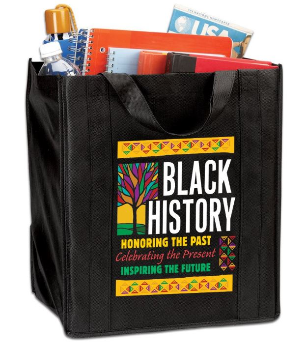 Black History tote bag - Honoring The Past