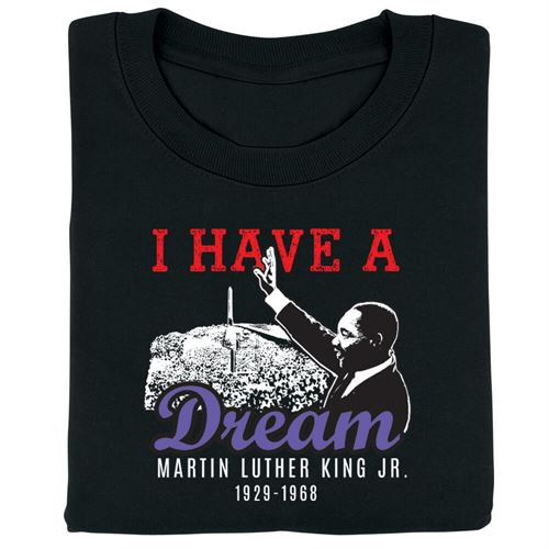 Martin Luther King - t-shirt - adult - I Have A Dream