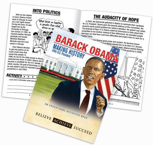 President Obama activity book