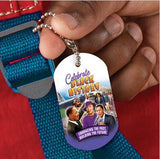Black History backpack tag - Celebrate Black History