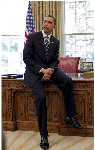President Barack Obama Oval Office - 17x11 - print