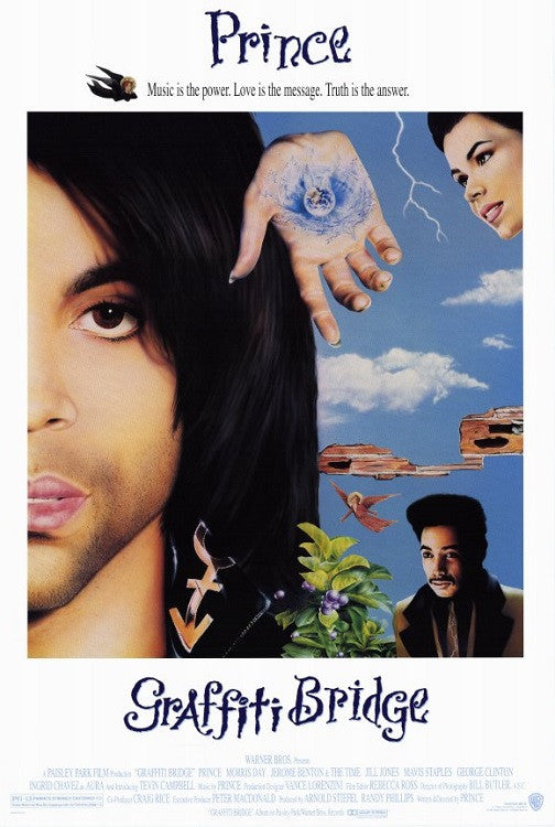 Prince - Graffiti Bridge - movie poster