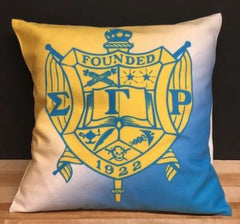 Sigma Gamma Rho - pillow