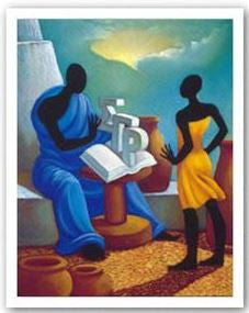 Sigma Gamma Rho art - 24x19 print - Willie Nash