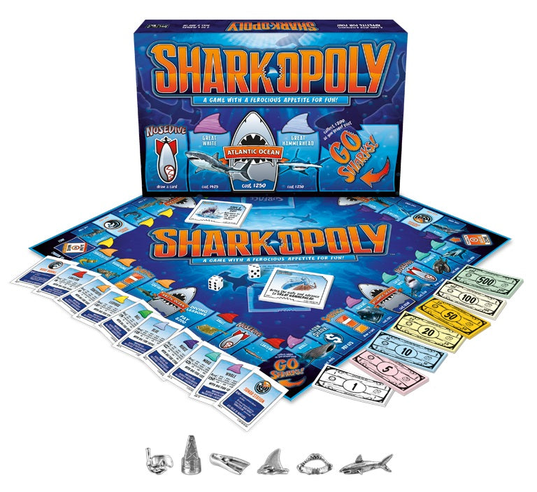 Shark-opoly - boardgame