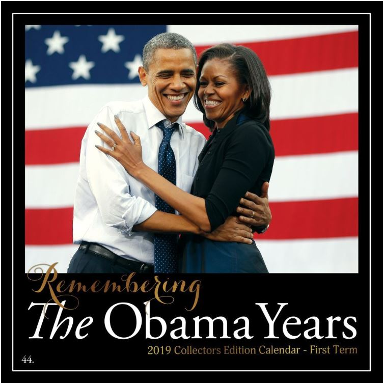 The Obama Years - 2019 wall calendar