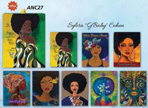 African american art designed note cards its a black thang gbaby drawer boxed note cards anc 27 m4hsunfo