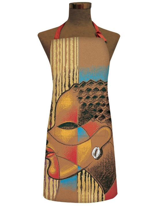 Composite Of A Woman - kitchen apron