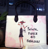 Faithful Fierce and Fabulous - bible bag