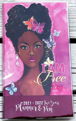 I Am Free - 2021-22 pocket calendar