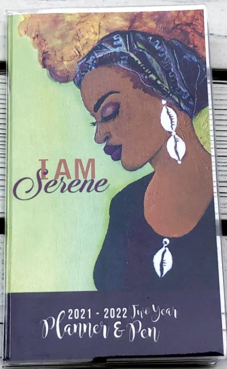 I Am Serene - 2021-22 pocket calendar
