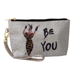 Be You - Cidne Wallace - cosmetic pouch