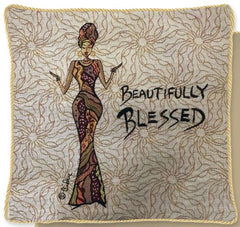 Beautifully Blessed - cushion cover
