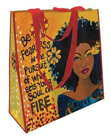 Set Your Soul On Fire - shopping bag