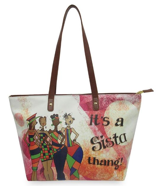 Its A Sista Thang - bucket style handbag