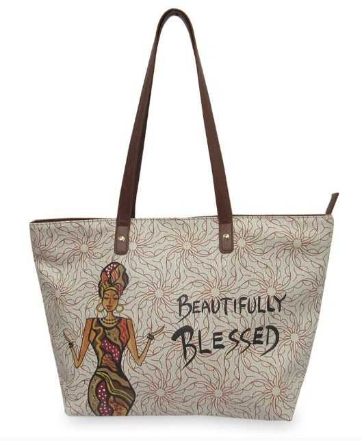 Beautifully Blessed - bucket style handbag