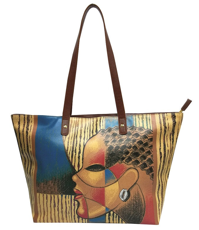 Composite Of A Woman - bucket style handbag