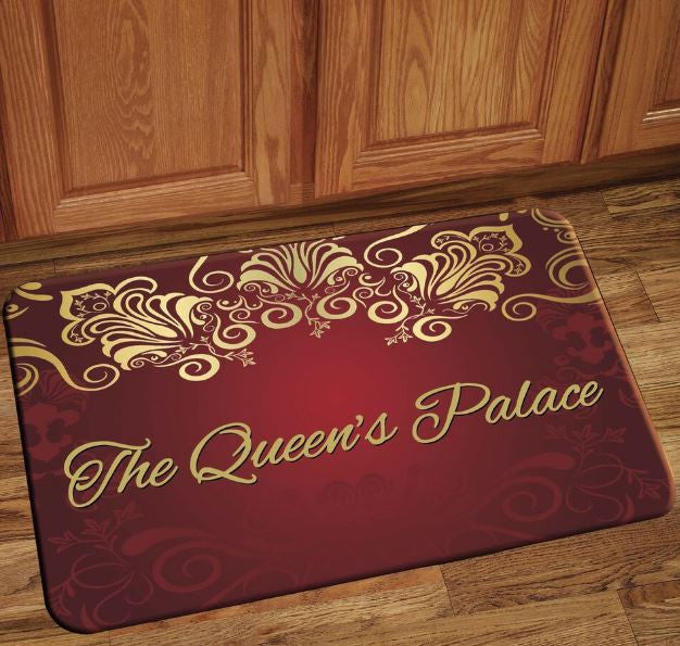 The Queens Palace - floor mat - red