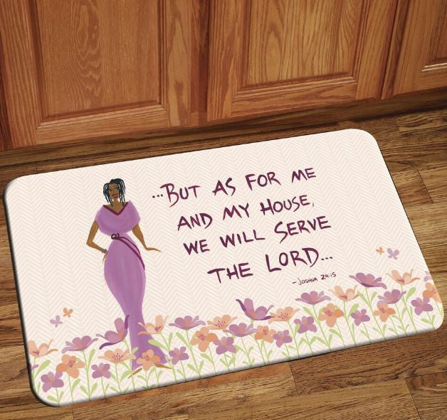 But As For Me - floor mat