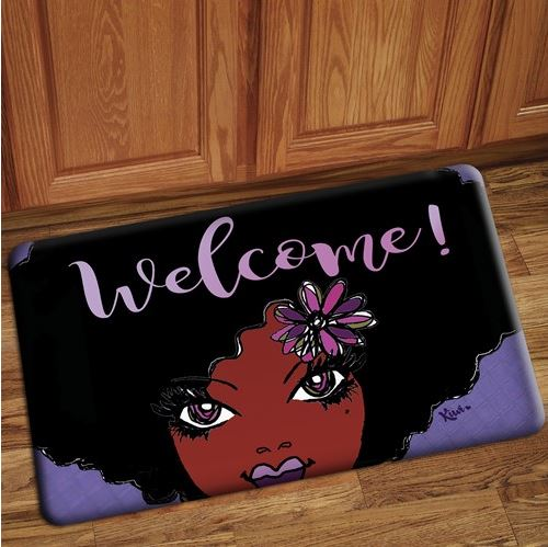 Welcome - floor mat