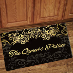 The Queens Palace - floor mat - black