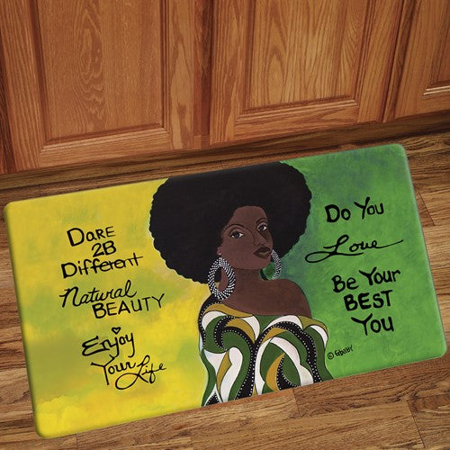 Dare 2 Be Different - floor mat