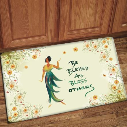 Be Blessed And Bless Others - floor mat