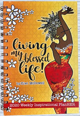 Living My Blessed Life - 2020 weekly planner