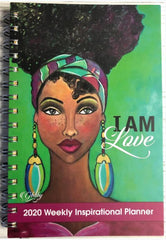 I Am Love - 2020 weekly planner