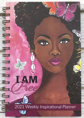 I Am Free - 2021 weekly planner