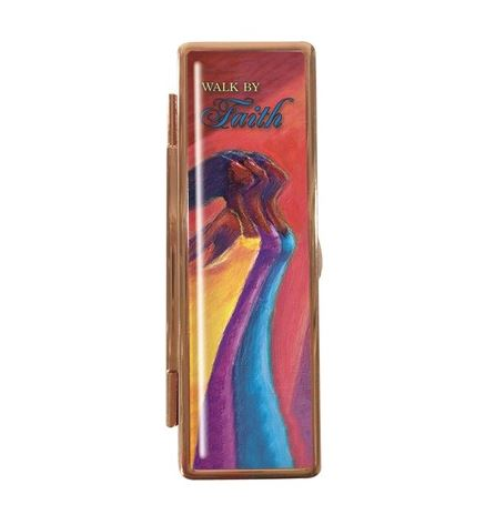 Walk By Faith - lipstick case