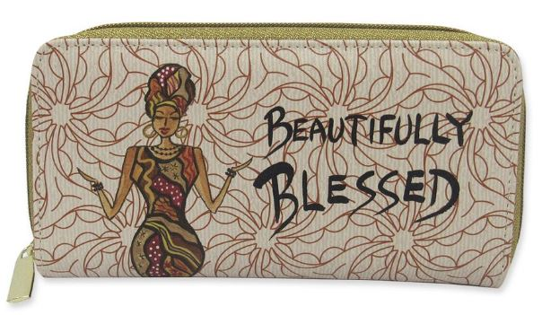 Beautifully Blessed - ladies wallet