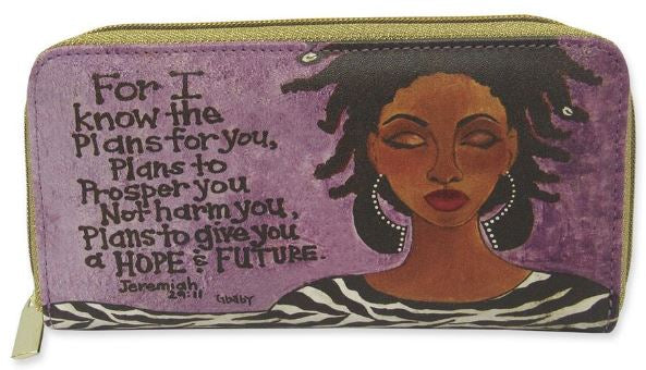 For I Know The Plans For You - ladies wallet