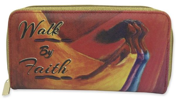 Walk By Faith - ladies wallet
