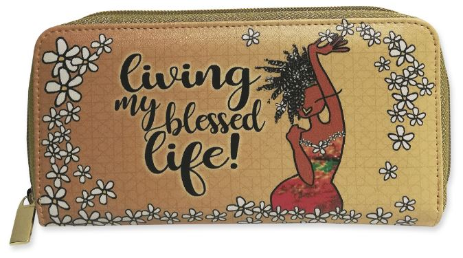 Living My Blessed Life - ladies wallet