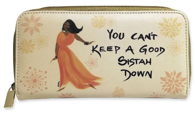 You Cant Keep A Good Sistah Down - ladies wallet