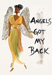 Angels Got My Back - Cidne Wallace - magnet