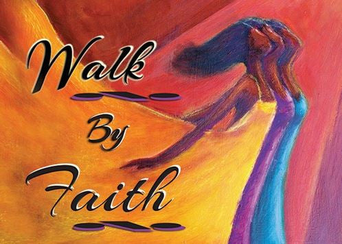 Walk By Faith - Kerream Jones - magnet