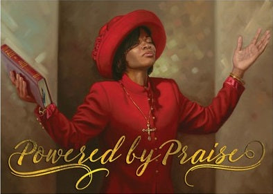 Powered By Praise - Henry Battle - magnet