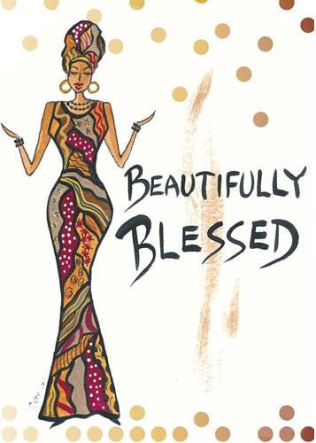 Beautifully Blessed - Cidne Wallace - magnet
