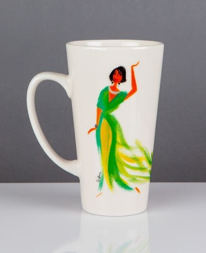 Be Fearless - Cidne Wallace - latte mug