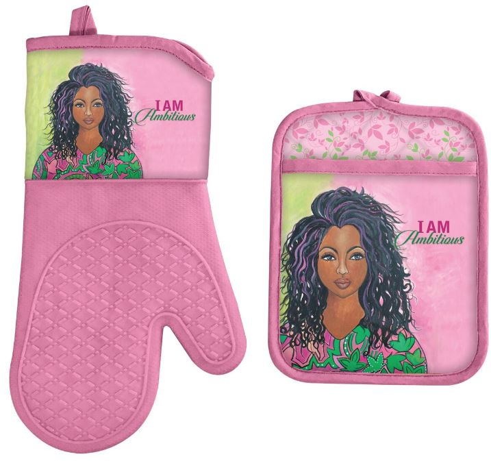 I Am Ambitious - oven mitt - pot holder