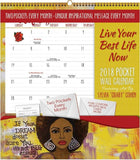 Live Your Best Life Now - 2018 African American calendar