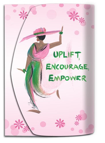 Uplift Encourage Empower - Mini note pad by Cidne Wallace
