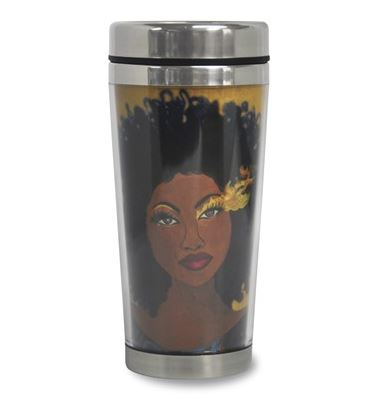 Sets Your Soul On Fire - Gbaby - travel mug