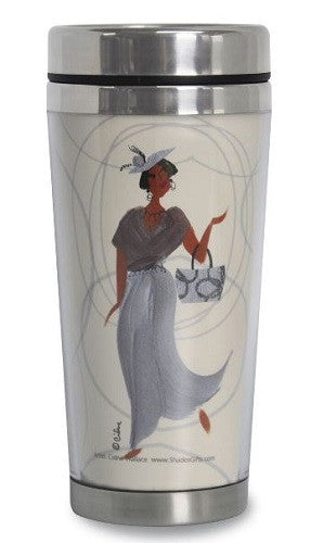 Gorgeous Granny - travel mug