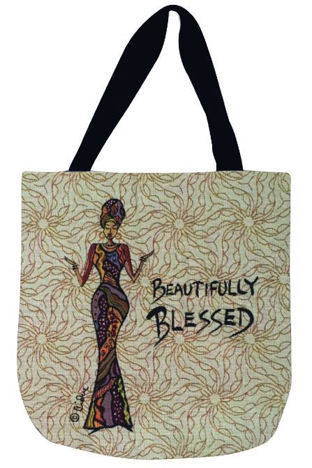 Beautifully Blessed - totebag