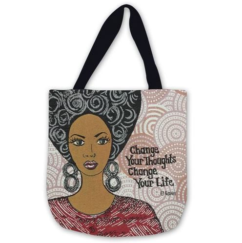 Change Your Thoughts - tote bag
