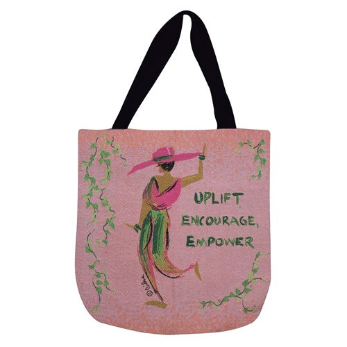 Uplift Encourage Empower - tote bag